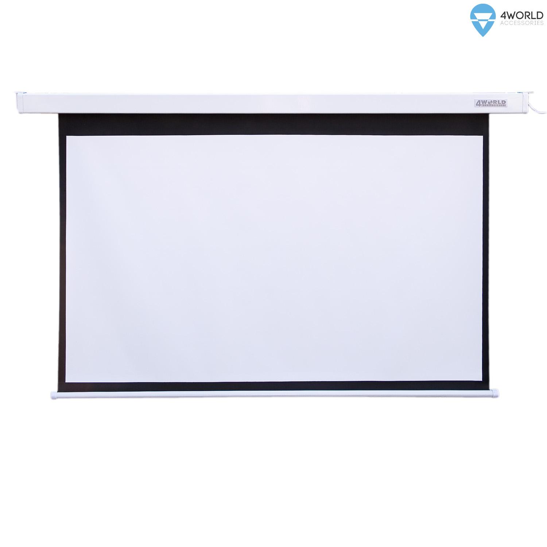 4World Projekční plátno elektrické DO 260x195 128'' 4:3