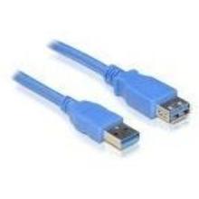 4World Kabel USB 3.0 AM-AF 1.0m Blue