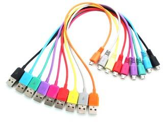 4World Datový kabel micro USB 1.0m Pink