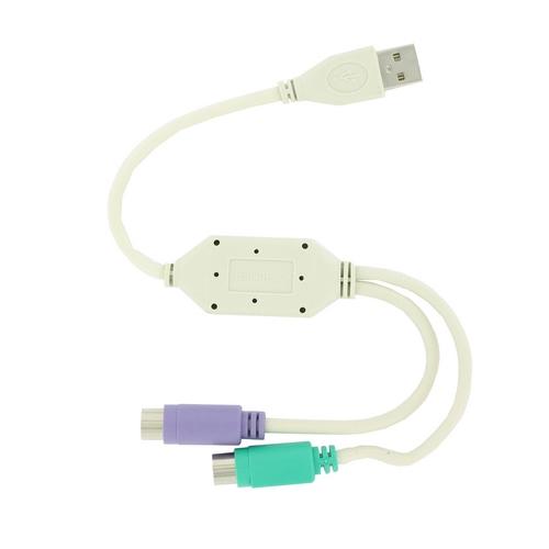 4World Adaptér USB na PS/2