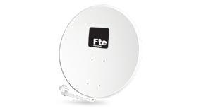 FTE Maximal OS 105 FE - kovová satelitní parabola