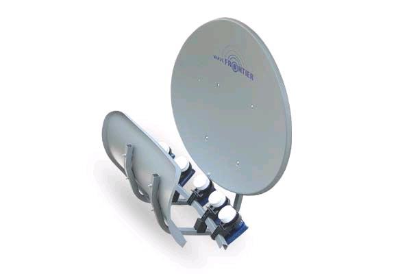 Toroidal 55 - satelitní parabola