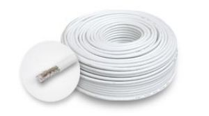 koaxiální kabel RG6  100m - bez PVC bubnu - Kabel koaxiální RG6