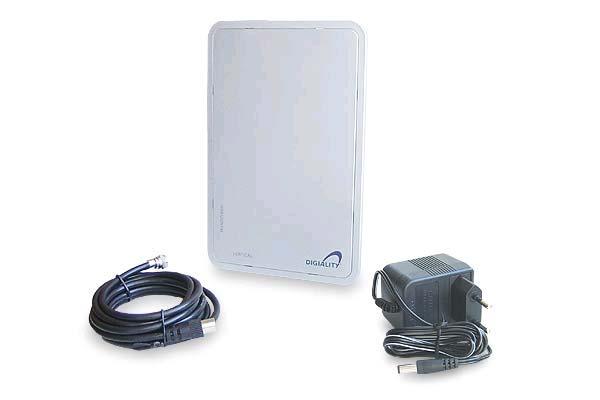 Aktivní DVB-T a DAB anténa DA 1200 + adaptér