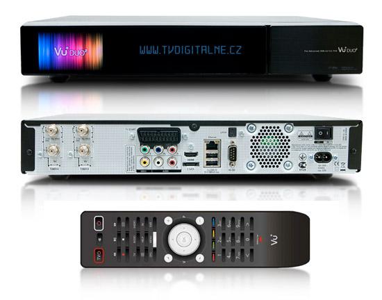 VU+DUO2 1x DUAL DVB S2 + 1x DVB-T/C