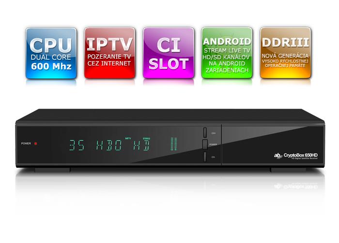 AB Cryptobox 650HD  DVB-C Tuner