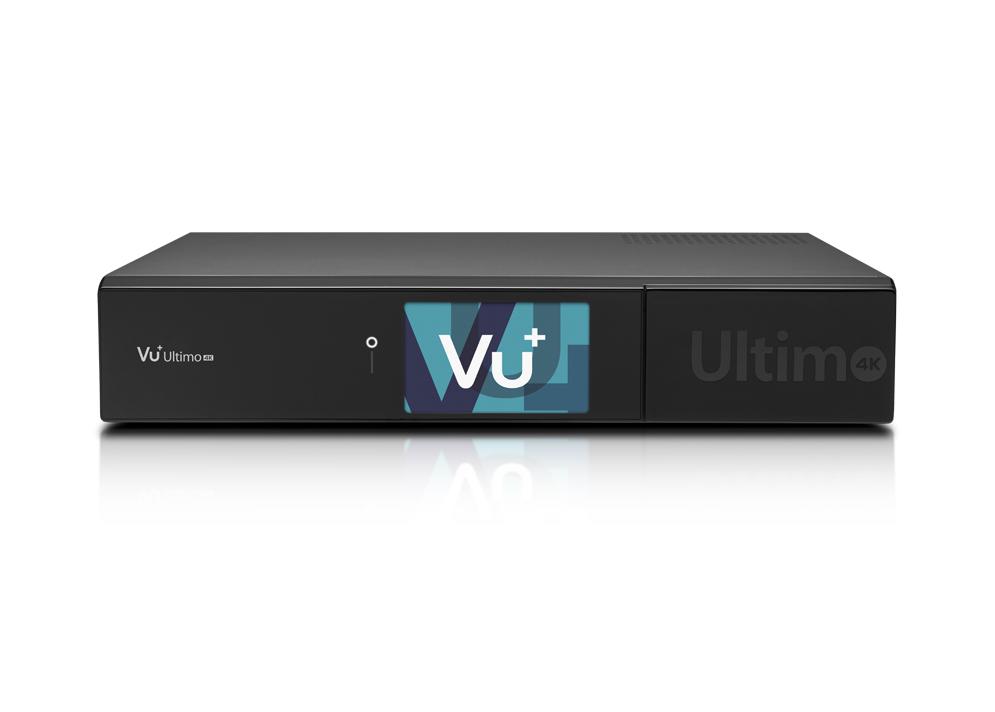 VU+ ULTIMO 4K - Satelitní UHDTV přijímač