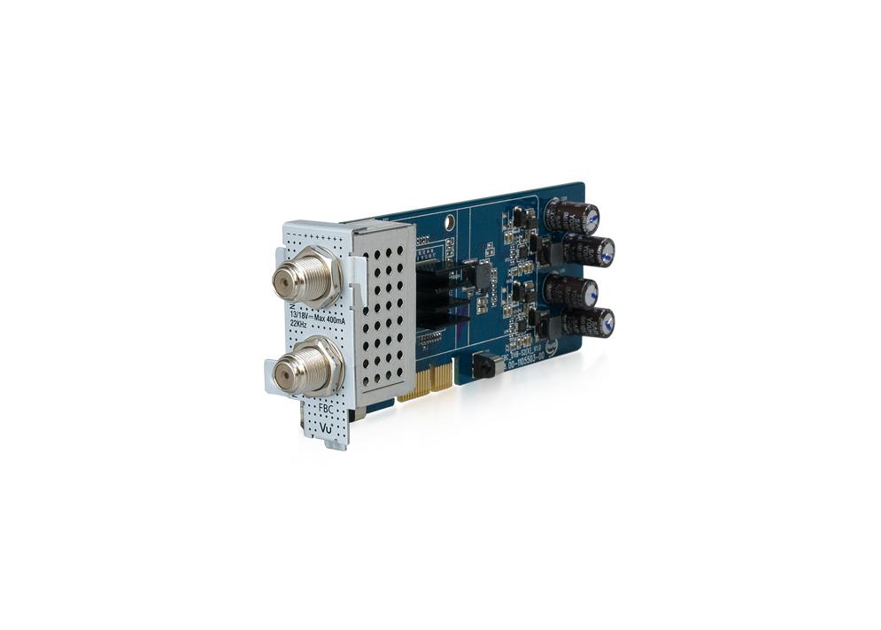 Vu+ Tuner Dual FBC DVB-S2X - Vu+TUNER DUALFBC S2X