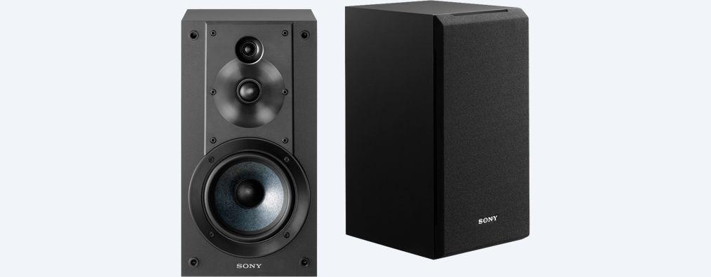Sony regálové reproduktory SS-CS5, černá (2 ks)