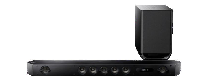 Sony Soundbar HT-ST9, 800W, 7.1k, Hi-res, černý