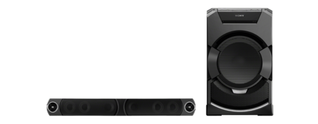 Sony Hi-Fi MHC-GT5D,USB,MP3,NFC,DVD,2400W MONSTER