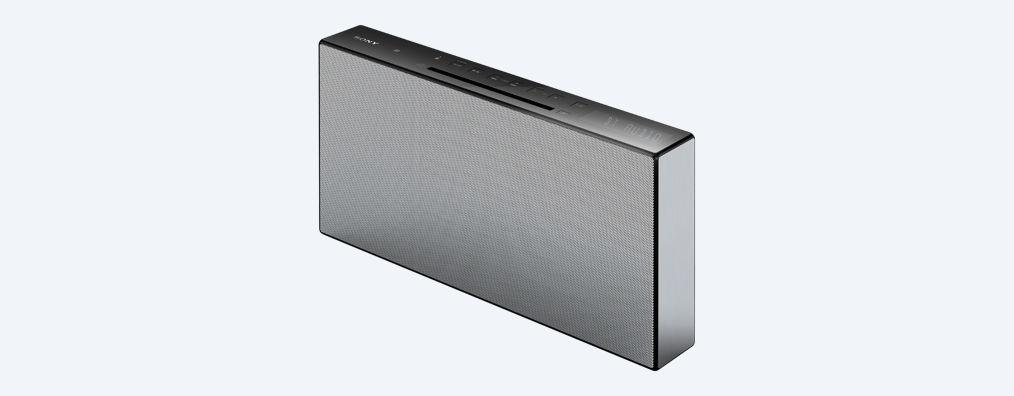 Sony mikro Hi-Fi systém CMT-X3CD,CD,NFC,10W, bílý - CMTX3CDW.CEL