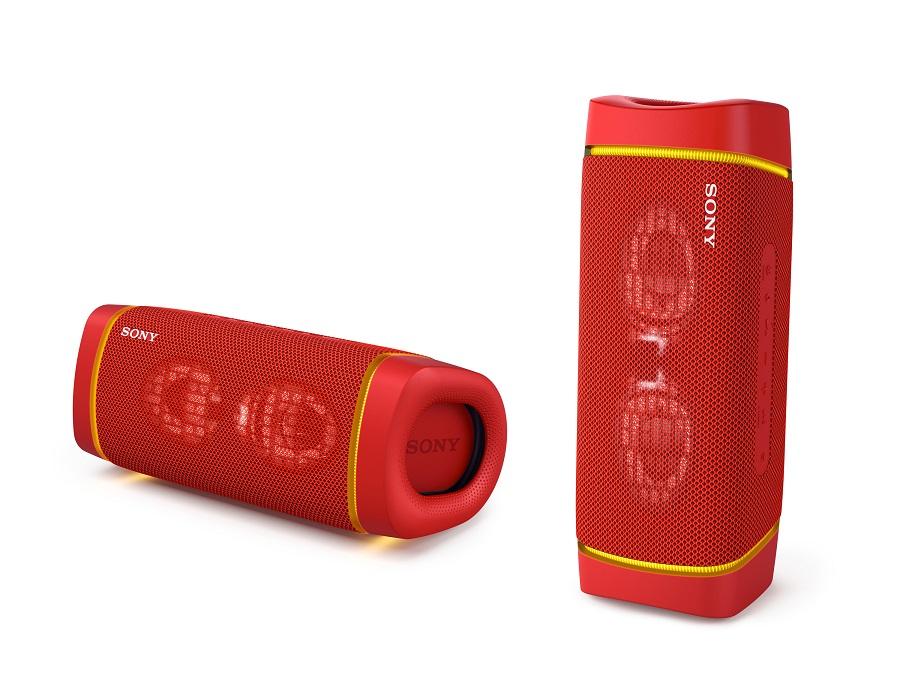 Sony bezdr. reproduktor SRS-XB33 červená