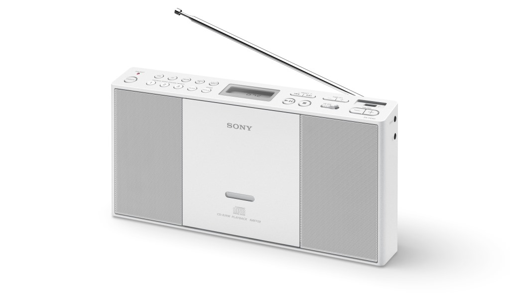 Sony mp3/CD/Radio přehrávač ZS-PE60,USB,bílý