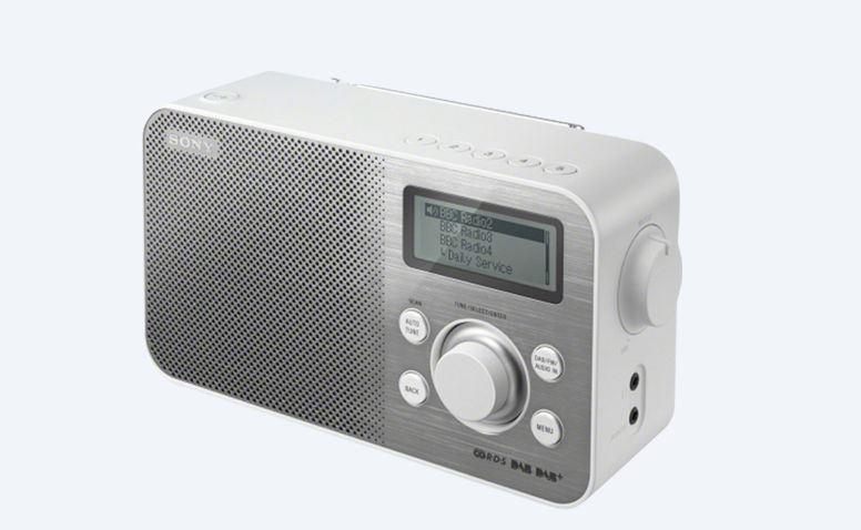 Sony radiopřijímač XDR-S60DBP DAB tuner bílý