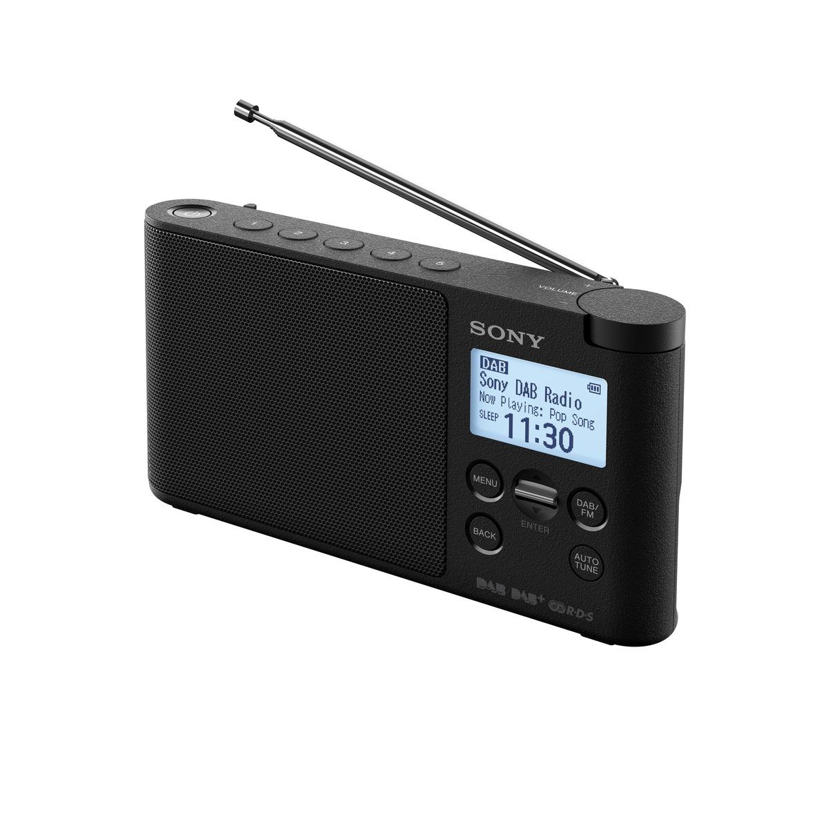 Sony radiopřijímač XDRS41DB.EU8 DAB tuner černý