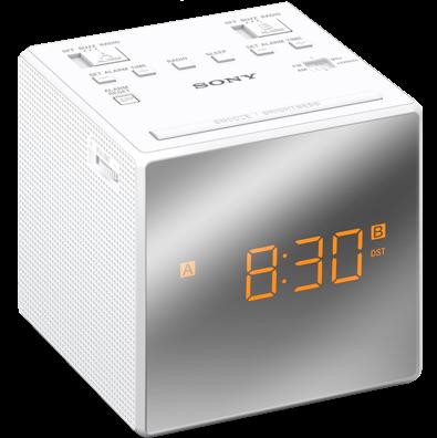 Sony radiobudík ICF-C1T, Duální alarm, bílý