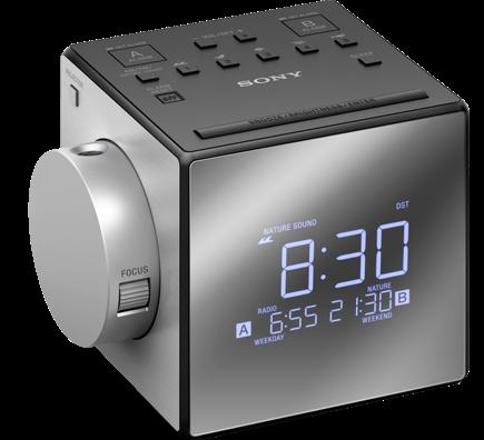 Sony radiobudík ICF-C1PJ, Duální alarm, projekce