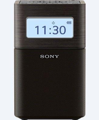 Sony rádio SRF-V1BT, přenosné, BT/NFC, vest. baterie, černá