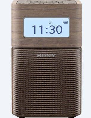 Sony rádio SRF-V1BT, přenosné, BT/NFC, vest. baterie, hnědá