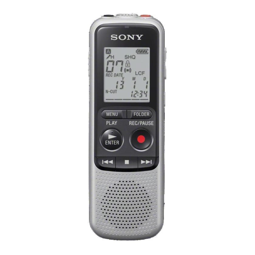 Sony dig. diktafon ICD-BX140,stříbrný,4GB