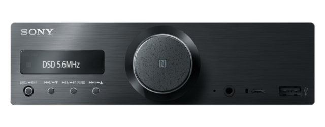 Sony autorádio RSX-GS9 Hi-Res,BT/NFC,bez mechaniky