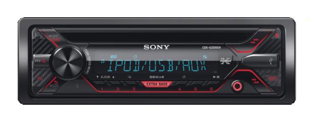 Sony autorádio CDX-G3200U CD/MP3,USB/AUX,
