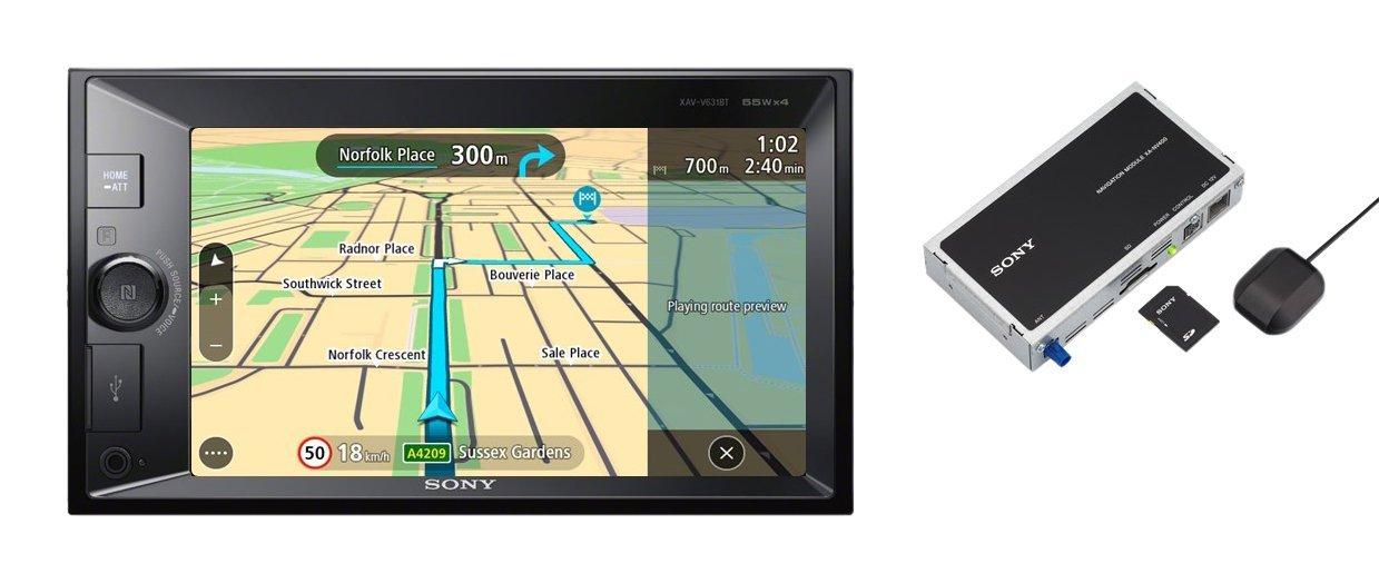 Sony autorádio XNV-KIT100 dot. display BT s nav.