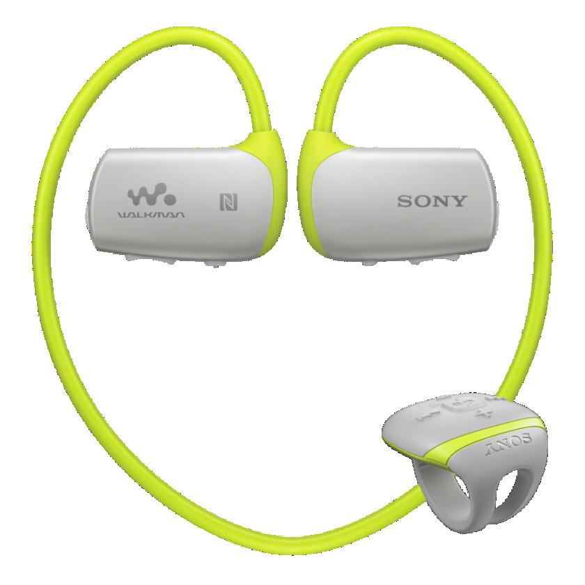 Sony MP3 přehrávač 4 GB NWZ-WS613 zelený,voděodol.