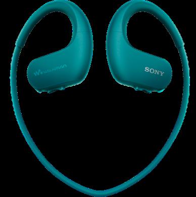 Sony MP3 přehrávač 4 GB NW-WS413 modrý, voděod.