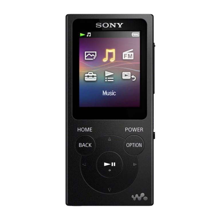 Sony MP4 8GB NWZ-E394 černá