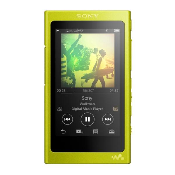 Sony MP4 16GB NW-A35 žlutý,Hi-res