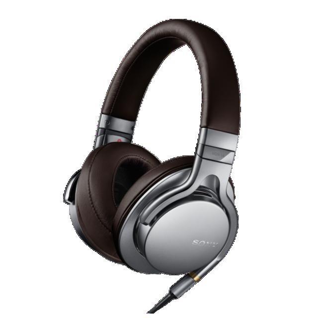 SONY sluchátkKa MDR-1A, HiRes, stříbrná