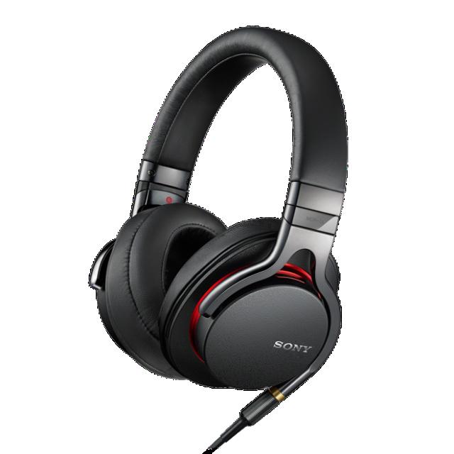 SONY sluchátka MDR-1A, Hi-Res, černá