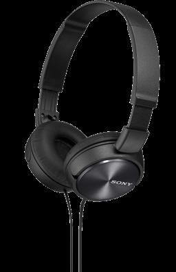SONY sluchátka MDR-ZX310 černé