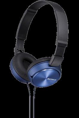 SONY sluchátka MDR-ZX310 modré