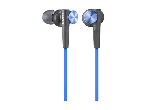 SONY sluchátka MDR-XB50, modré
