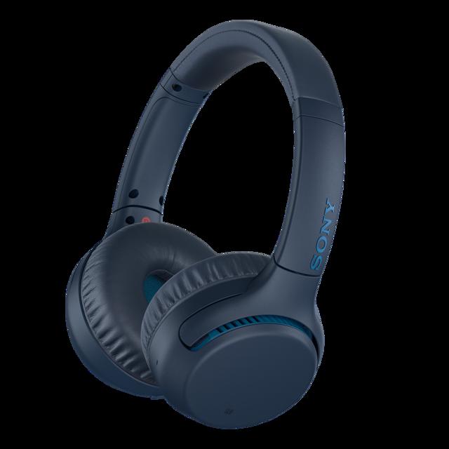 SONY sluchátka WH-XB700 EXTRA BASS, modrá