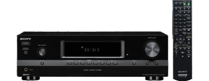 Sony receiver STR-DH130 černý, 115Wx2, 2.0