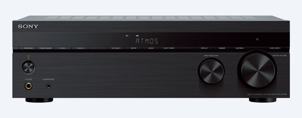 Sony receiver STR-DH790 černý