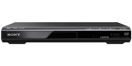 Sony DVD přehrávač DVPSR760H černý