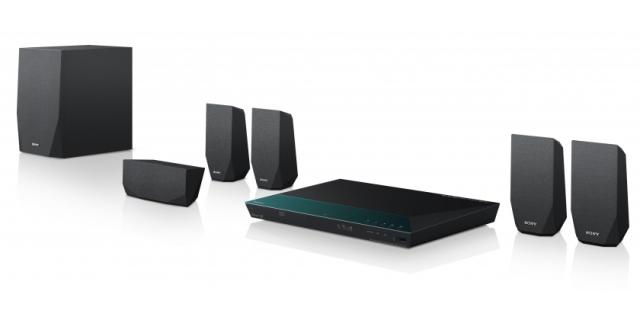 Sony Blu-Ray domácí kino BDV-E2100,1000W,3D,5.1