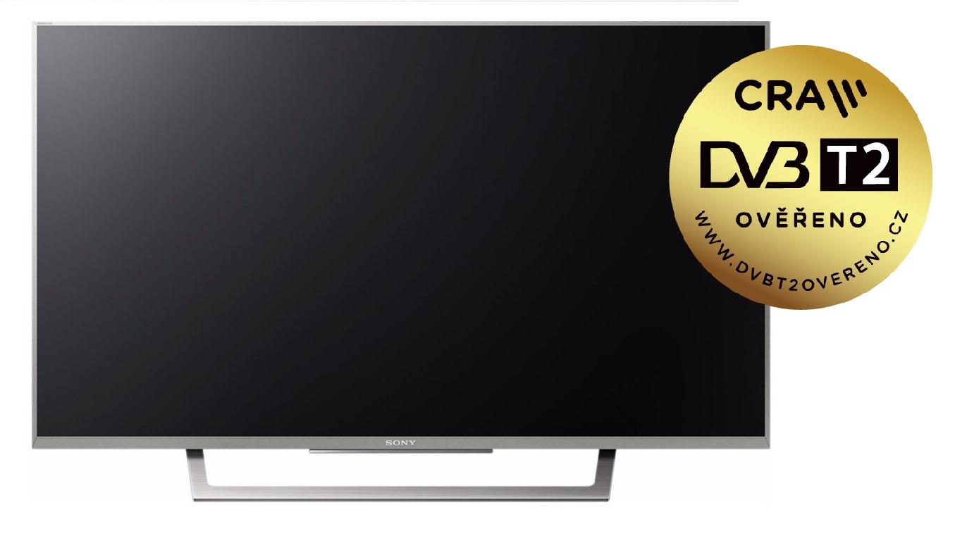 Sony 43 FHD LED TV KDL-43WD757  / DVB-T2,C,S2 / XR400 / stříbrná