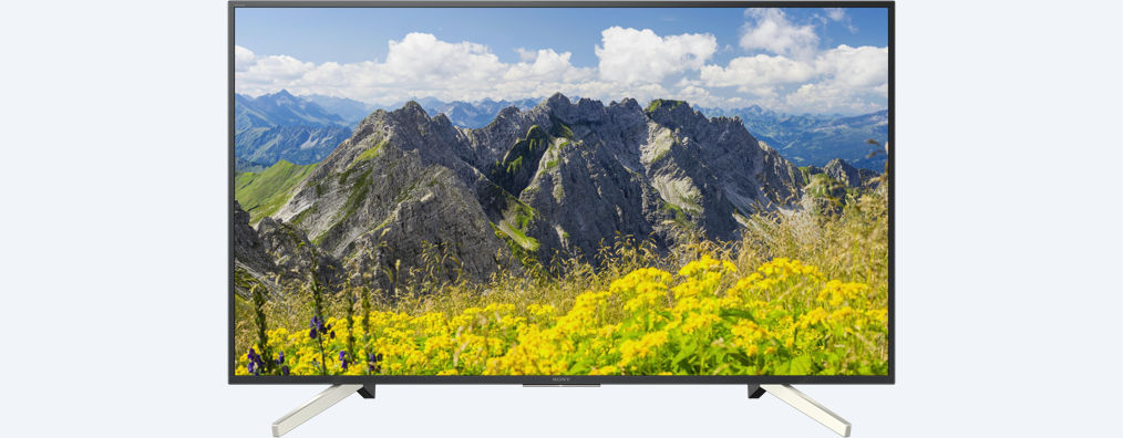 Sony 43'' 4K HDR TV KD-43XF7596/DVB-T2,C,S2