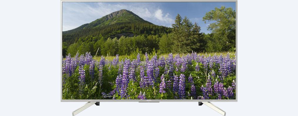 Sony 49'' 4K HDR TV KD-49XF7077/DVB-T2,C,S2