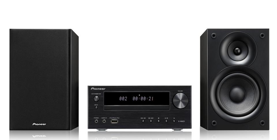 Pioneer mikro systém s CD, USB, Bluetooth, černý