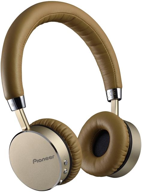 Pioneer sluchátka s BT hnědostříbrná