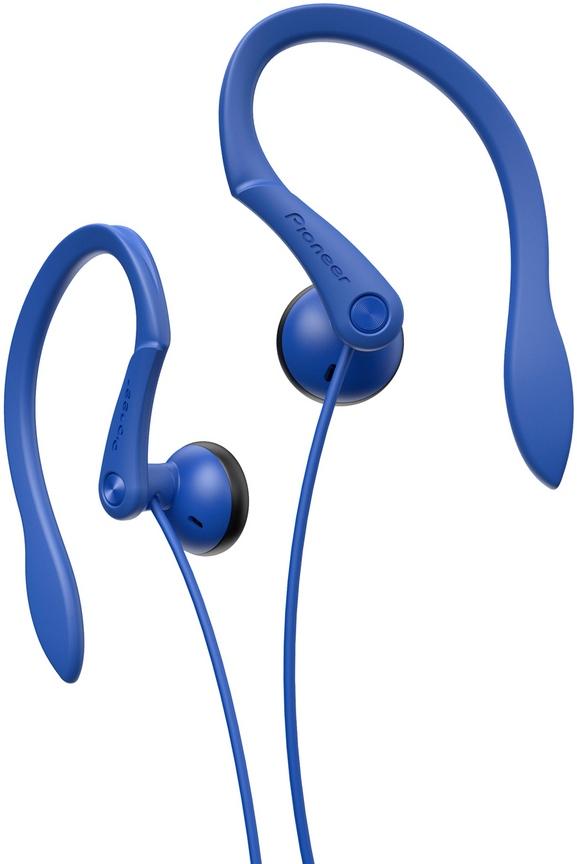 Pioneer závěsná sluchátka modrá