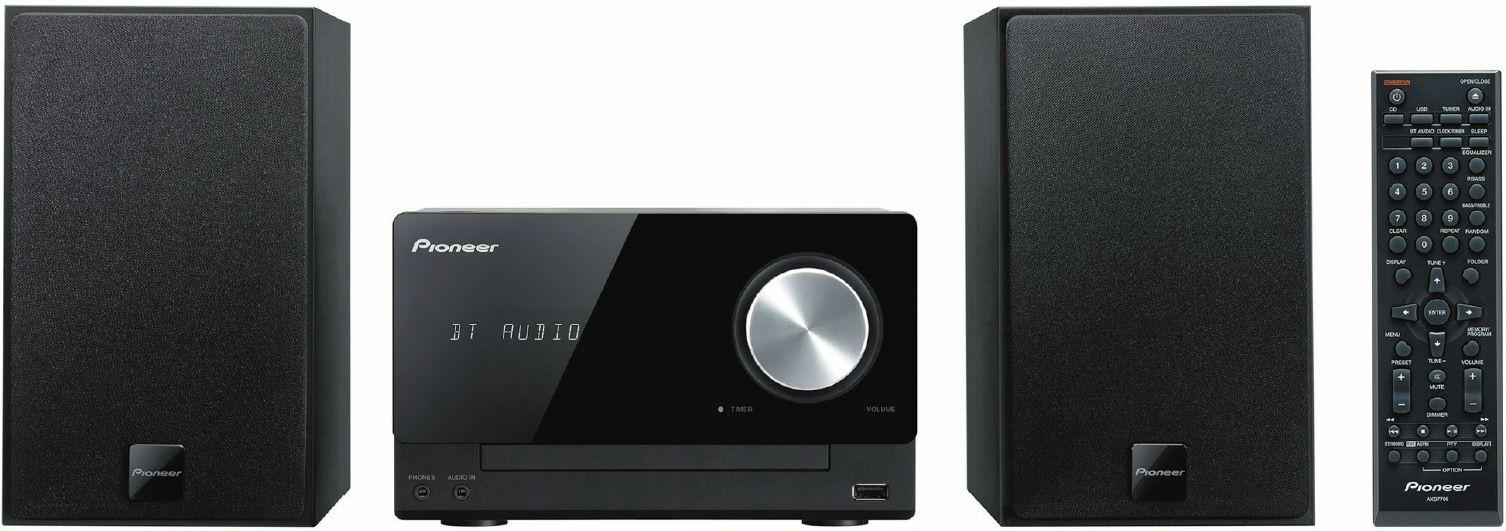 Pioneer mikro systém s CD, USB, BT, NFC černý