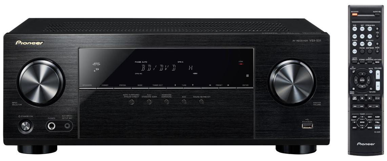 Pioneer AV přijímač 5.1 kanalový černý